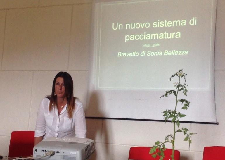 Sonia Bellezza in facoltà